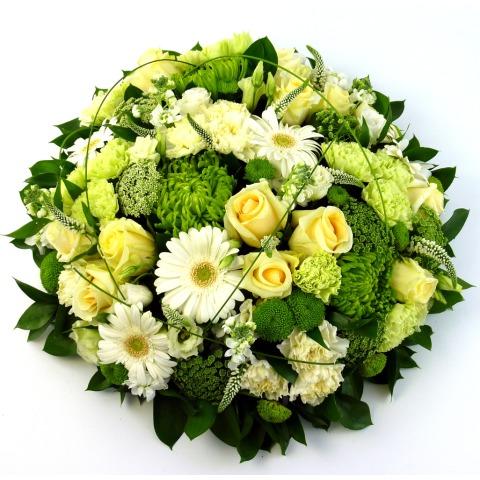 "Luxury Funeral Posy 12"""