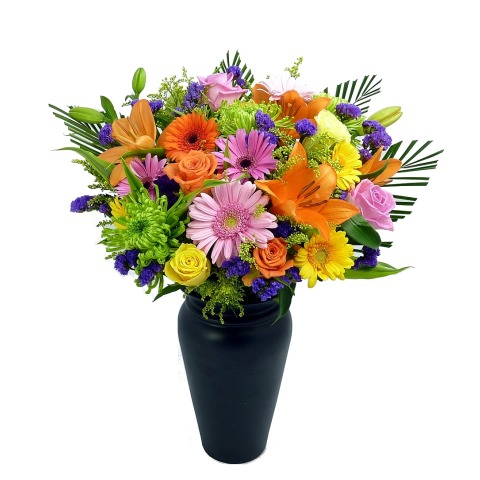 Vibrant Bouquet | Isle of Man Florist | Robinson's Flowers | Hand Tied Bouquets